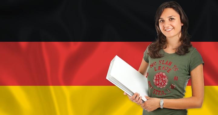 deutsche-flagge-frau